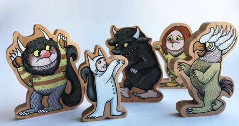 where the wild things are bookmarks
