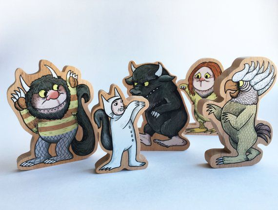 Where the Wild Things Are Wooden Blocks