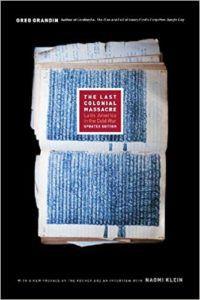 The Last Colonial Massacre Book Cover