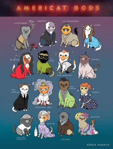 American Gods as Cats