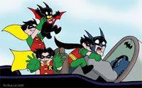 Cover image for webcomic Batman & Sons