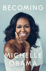 Becoming by Michelle Obama cover