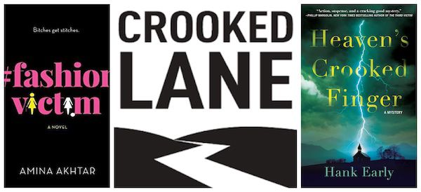 Crooked Lanes Titles #FashionVictim and Heaven's Crooked Finger