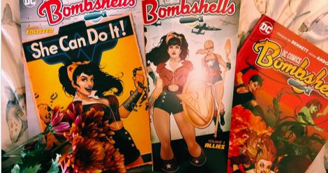DC bombshells comics feature