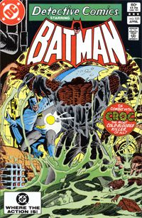 Cover Detective Comics Issue 525