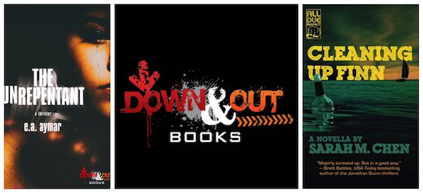 Down & Out Books Titles The Unrepentant and Cleaning Up Finn