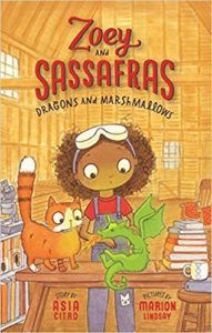 Book cover of Dragons and Marshmellows by Asia Citro