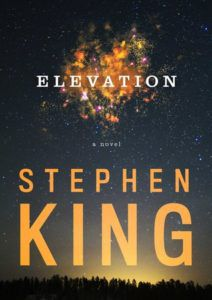 Elevation by Stephen King cover