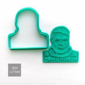 Ernest Hemingway cookie cutter