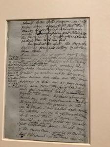 Frankenstein Turns 200 Morgan Library Handwritten Draft