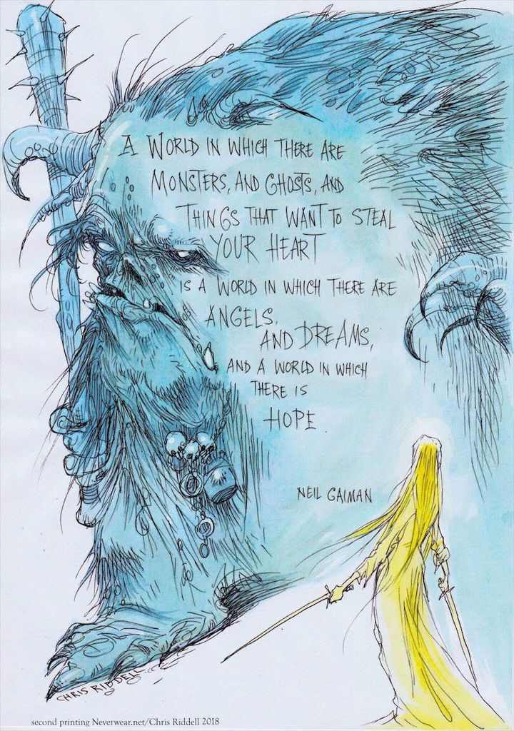 Hope by Chris Riddell