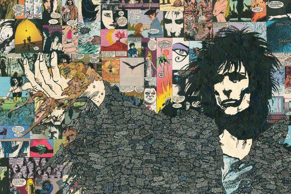 Morpheus Collage Print