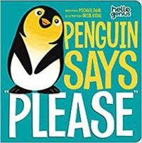 Penguin Says Please Cover