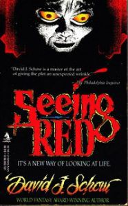 Seeing Red cover - David Schow