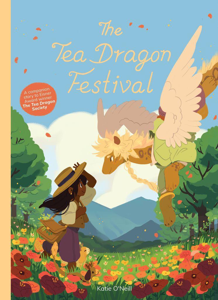 Tea Dragon Festival Cover