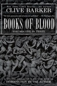 The Books of Blood cover - Clive Barker