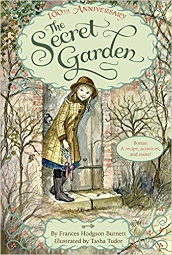 The Secret Garden cover by Frances Hodgson Burnett