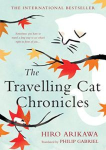 The Travelling Cat Chronicles by Hiro Arikawa. How Audiobooks Help My Sleep Goals.