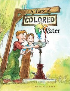 A Taste of Colored Water book cover