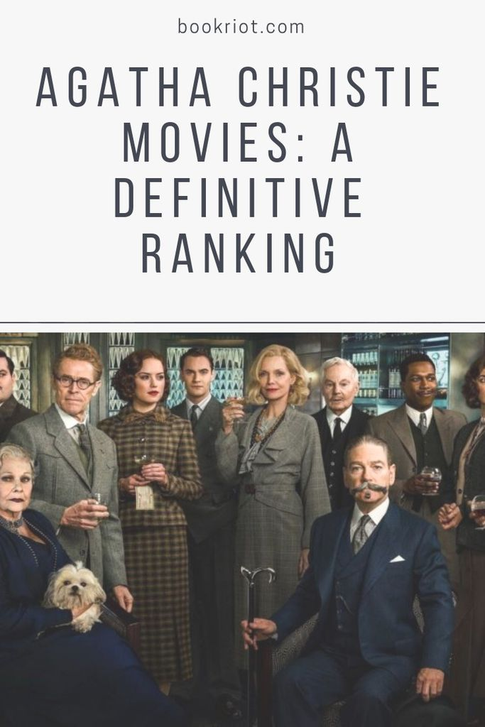 A definitive ranking of Agatha Christie movies. Agatha Christie | Agatha Christie Movies | Agatha Christie Adaptations | Adaptations