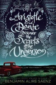 Aristotle and Dante Discover the Secrets of the Universe from Pride Reading List | bookriot.com
