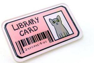 bookish cat enamel pins