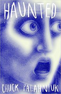 chuck palahniuk haunted book cover