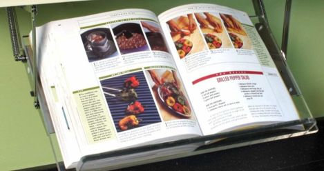 cookbook stands feature