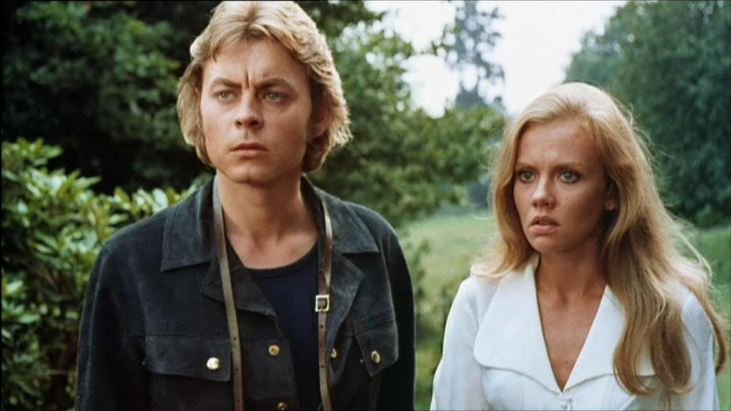 Hywell Bennett and Hayley Mills in 1972's Endless Night, from IMDB