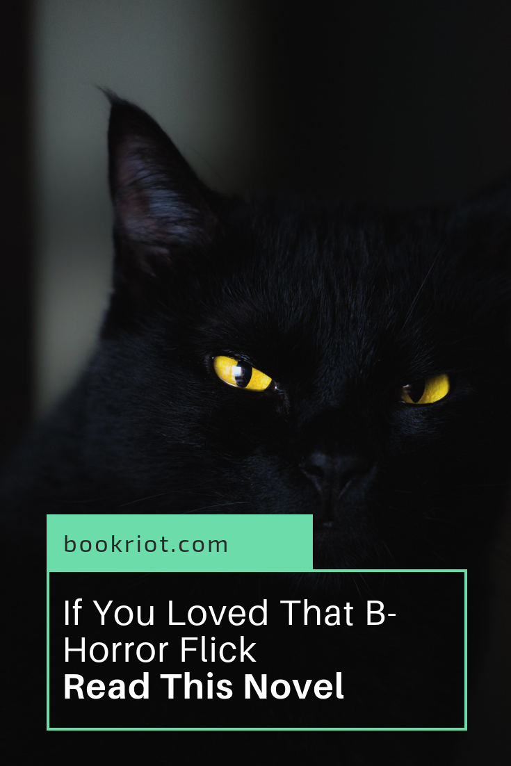 What horror books to read based on your favorite b-horror film. scary movies | scary books | book lists | horror books | books to read based on your favorite movie