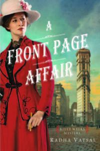 A Front Page Affair by Radha Vatsal - Historical Mysteries, Book Riot