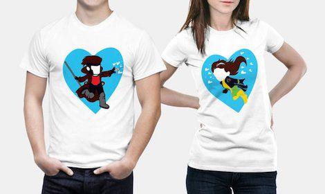 X-Men t-shirts