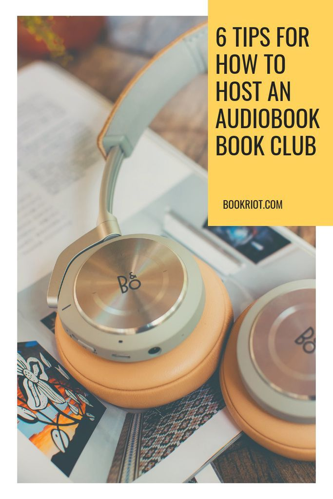 Tips and tricks for how to host an audiobook book club. book clubs   audiobooks   audiobook club   audiobook book club