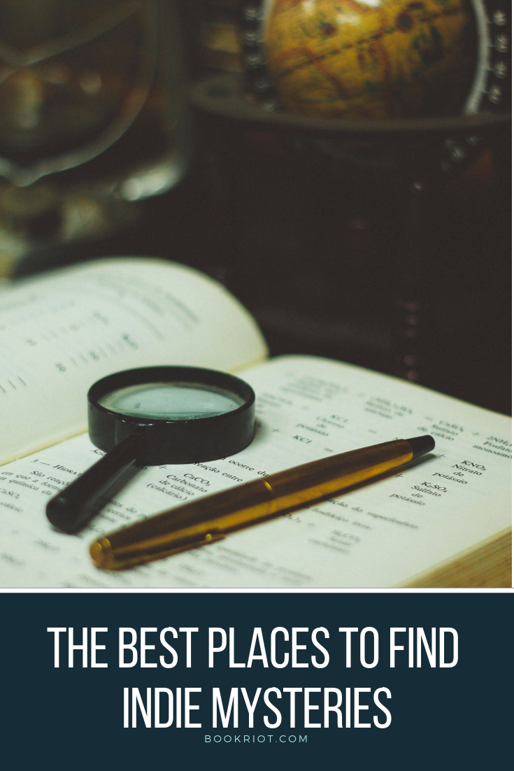 The best places to find indie mystery novels. indie mysteries | indie publishers | independent publishers | mystery independent publishers