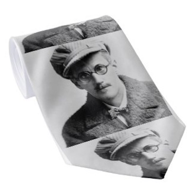 James Joyce Portrait Tie