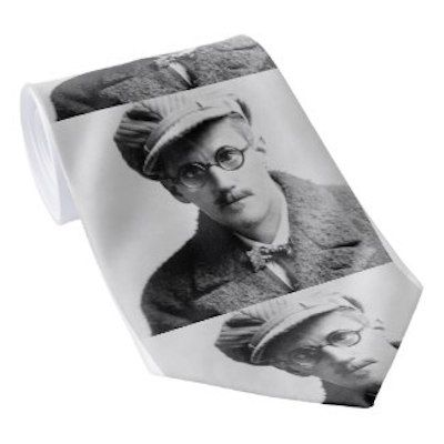 James Joyce Portrait Tie