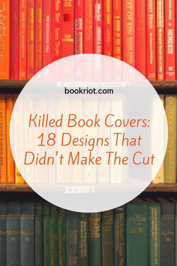 18 designs for book covers that didn't make the cut (but are worth checking out anyway!). book covers | book cover design | book design | awesome book covers