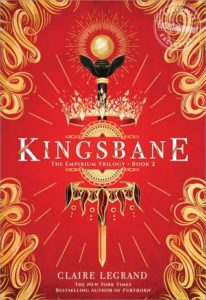 Kingsbane from 20 YA Books To Add To Your Spring TBR | bookriot.com