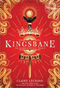 Kingsbane from from 50 YA Books That Should Be Added to Your 2019 TBR ASAP | bookriot.com
