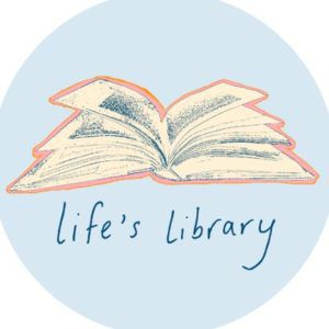 logo of life's library, John Green book club