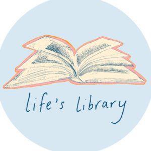 logo of life's library, John Green book club