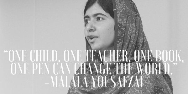 25 Inspiring Malala Yousafzai Quotes On Education And More ...