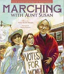 Marching with Aunt Susan book cover