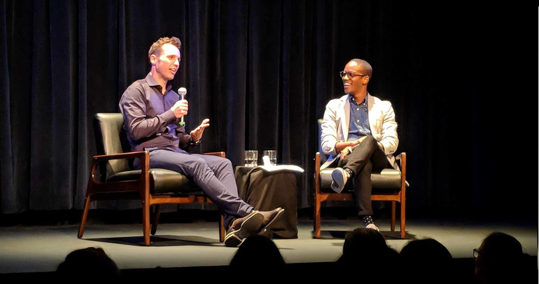 markus zusak discusses bridge of clay at new york city launch