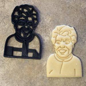 Maya Angelou cookie cutter