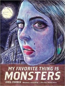 My Favorite Thing Is Monsters from 6 Spooky Comics To Get In The Halloween Spirit | bookriot.com