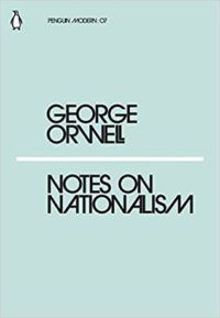 cover for Notes on Nationalism by George Orwell