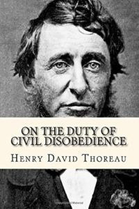 cover for On the Duty of Civil Disobedience by Henry David Thoreau
