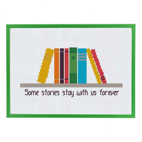 70 Badass Literary Cross-Stitch Patterns To Buy Right Now