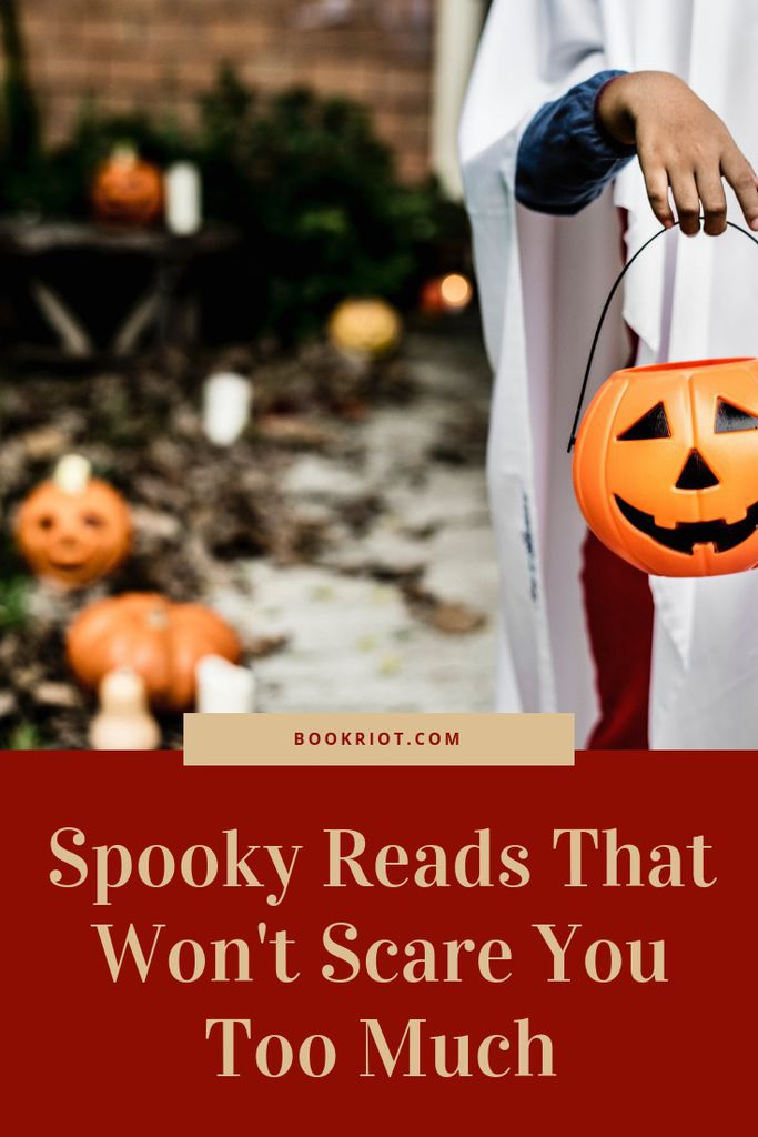 Spooky reads that won't scare you too much. spooky reads | book lists | scary books | horror books